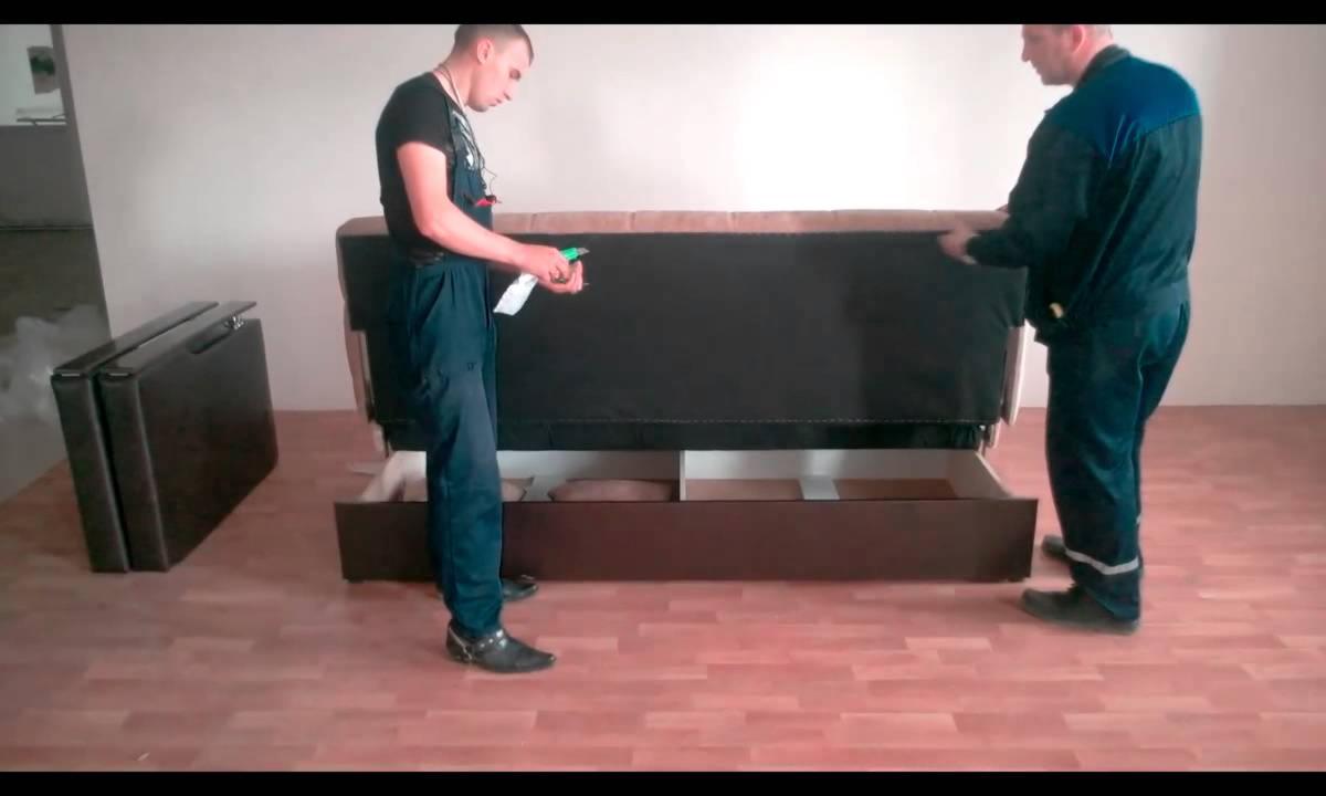Сборка мякгой мебели в Орле